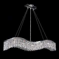 James moder lighting lamps plus james r moder 5 light crystal wave bar with icicles aloadofball Images