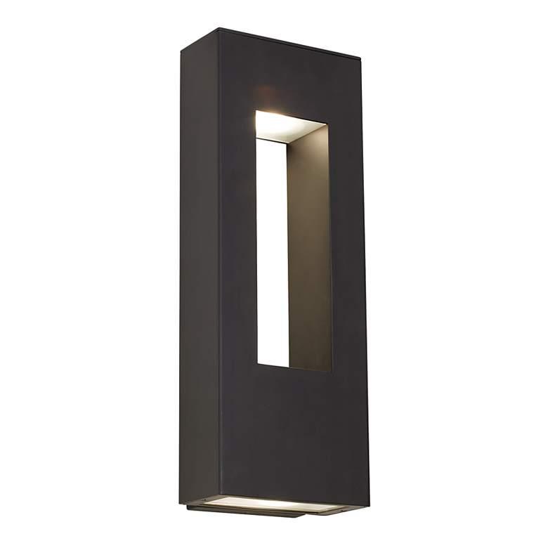 "Hinkley Atlantis Bronze 16"" High Dark Sky Outdoor Wall Light"