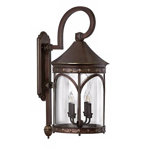 """Lucerne Collection 29 1/2"""" High Outdoor Wall Light"""