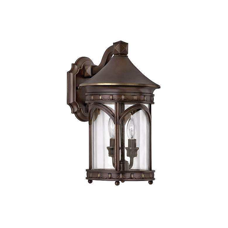 """Hinkley Lucerne Collection 15"""" High Outdoor Wall Light"""