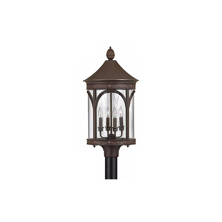 "Hinkley Lucerne Collection 26"" High Outdoor Post Light"