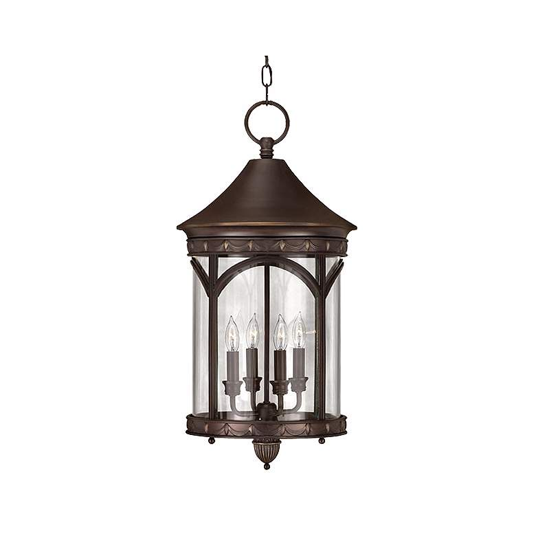 """Lucerne Collection 24 1/2"""" High Outdoor Hanging Light"""