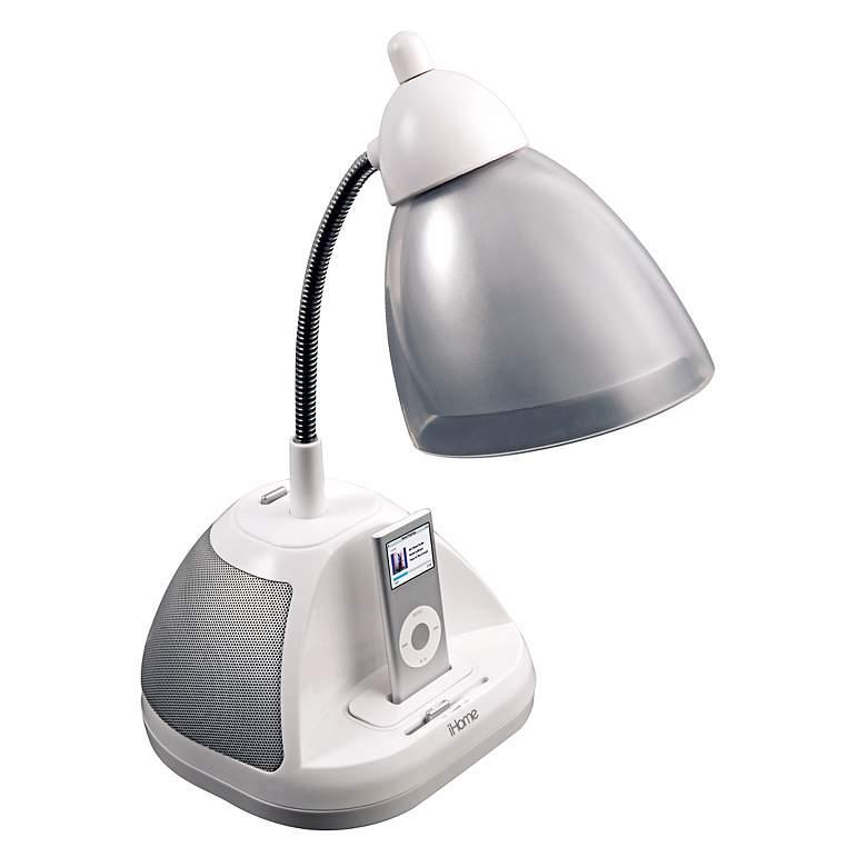 iHome iPod Dock and Speakers Desk Lamp