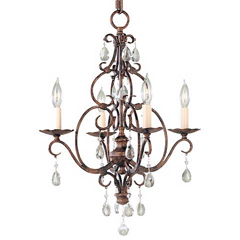 Chateau collection mini duo chandelier 52766 lamps plus chateau collection mini duo chandelier aloadofball Images
