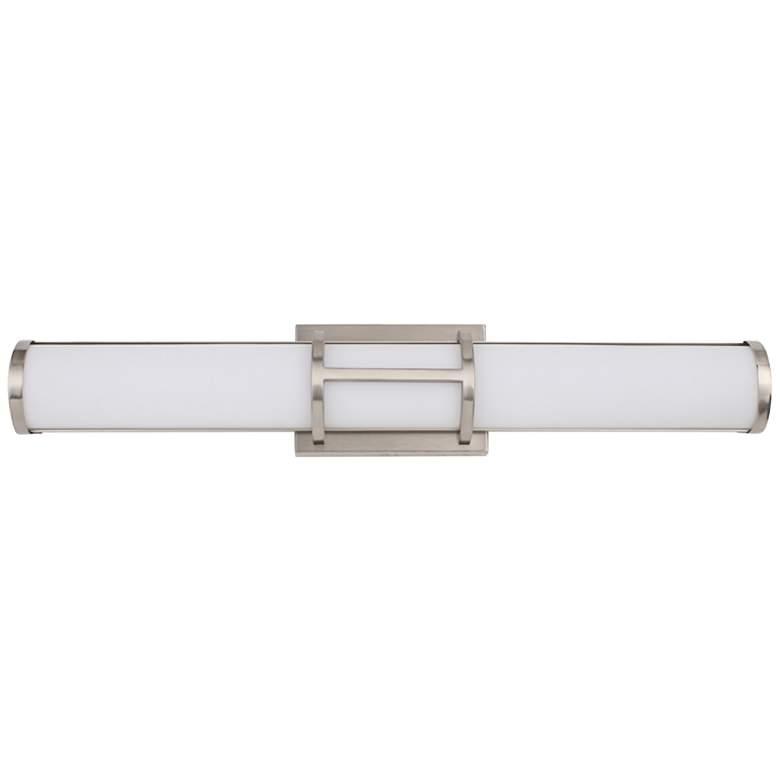"""Eglo Ramaro 24"""" Wide Chrome LED Bath Light"""