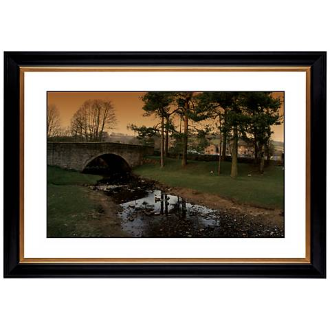 "Stone Bridge Giclee 41 3/8"" Wide Wall Art"
