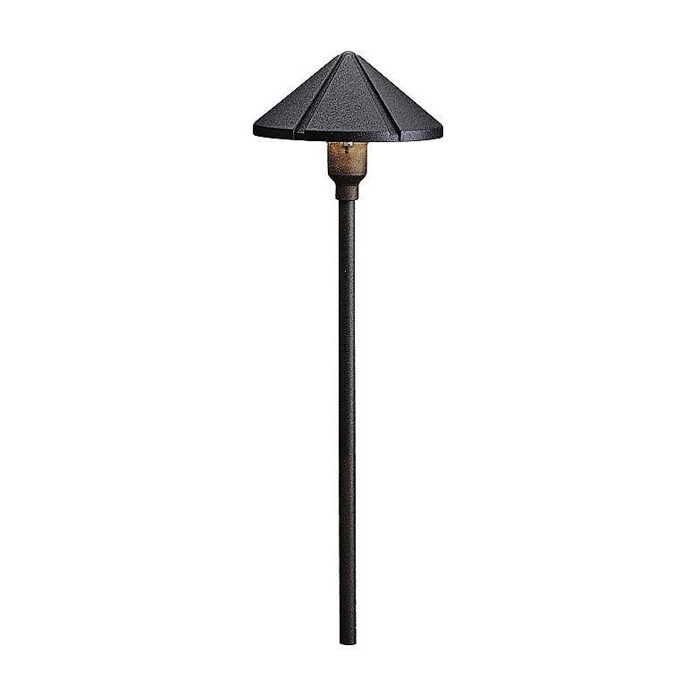 Kichler Textured Black Cone Low Voltage Landscape Light