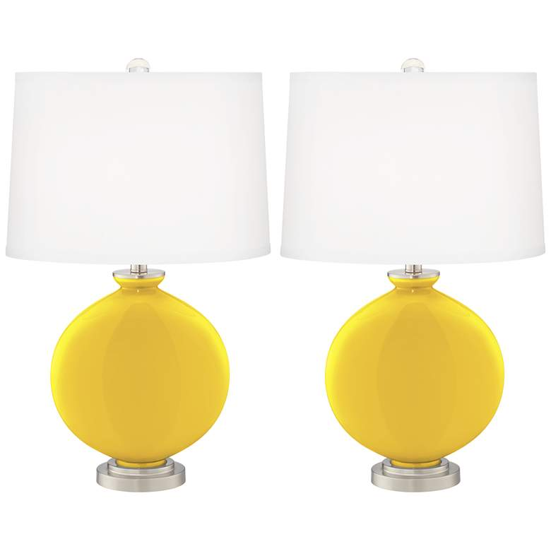 Citrus Carrie Table Lamp Set of 2