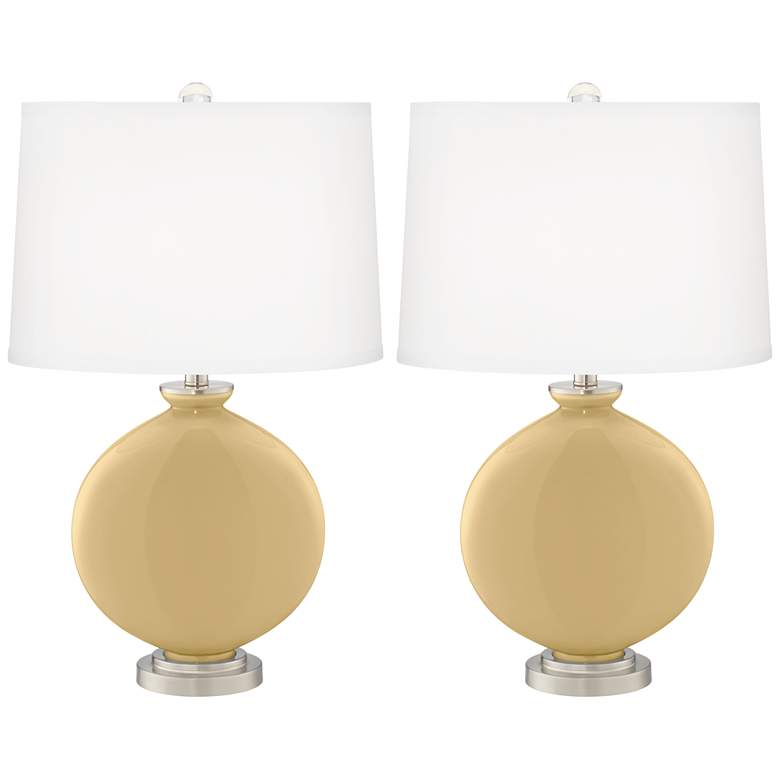 Humble Gold Carrie Table Lamp Set of 2