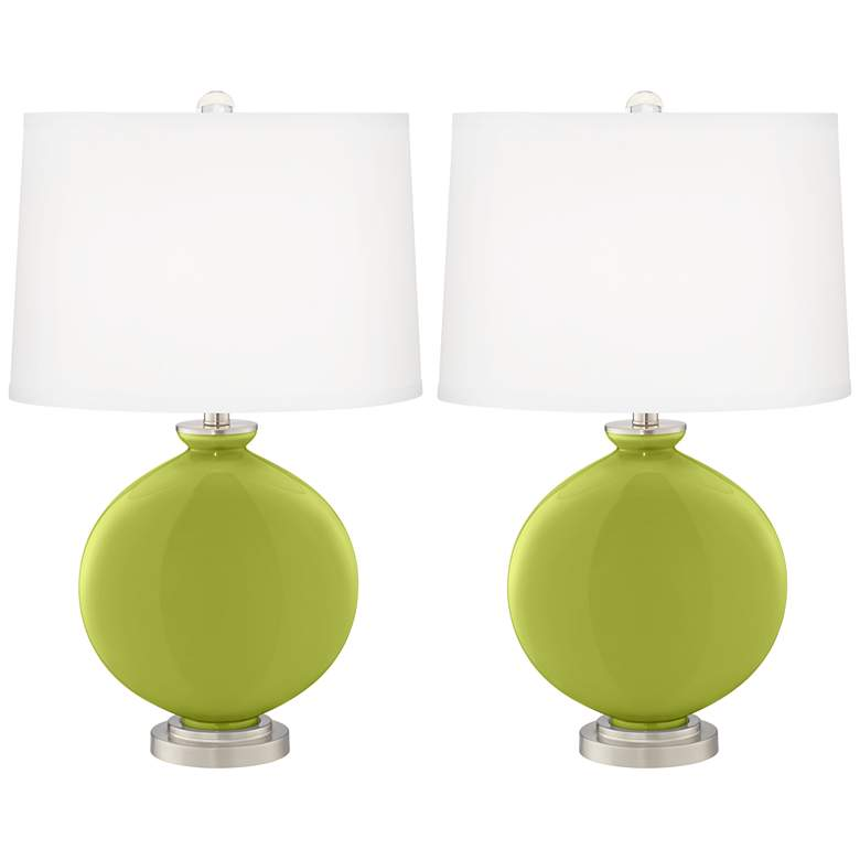 Parakeet Carrie Table Lamp Set of 2