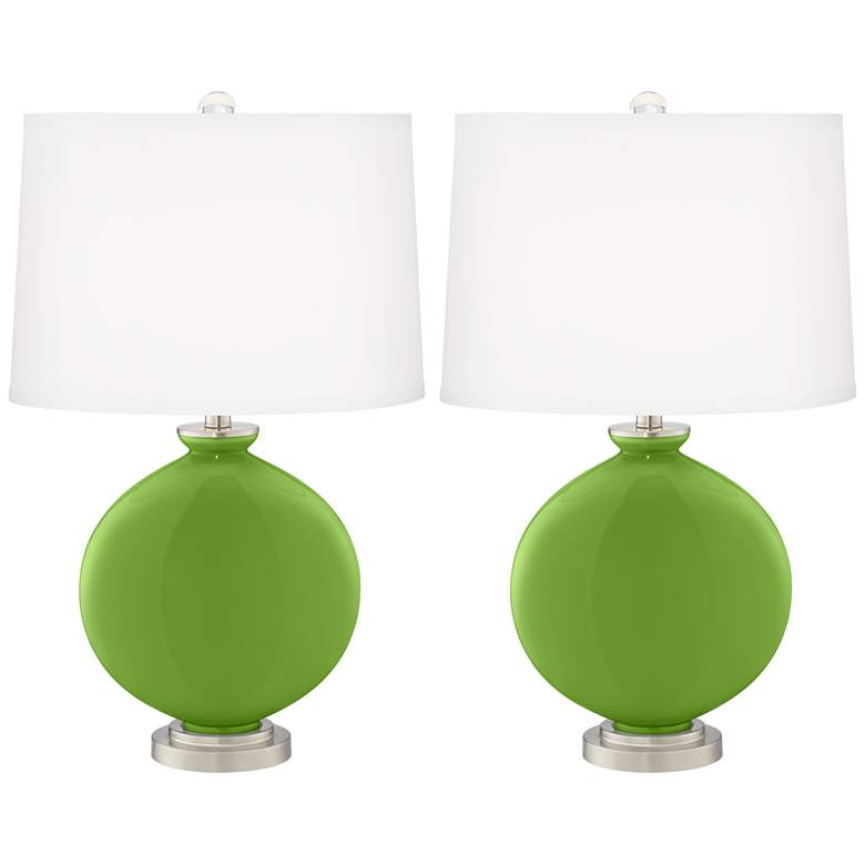 Rosemary Green Carrie Table Lamp Set of 2