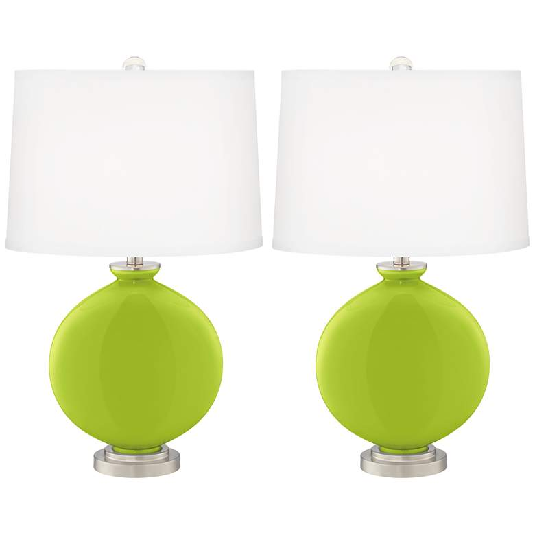Tender Shoots Carrie Table Lamp Set of 2
