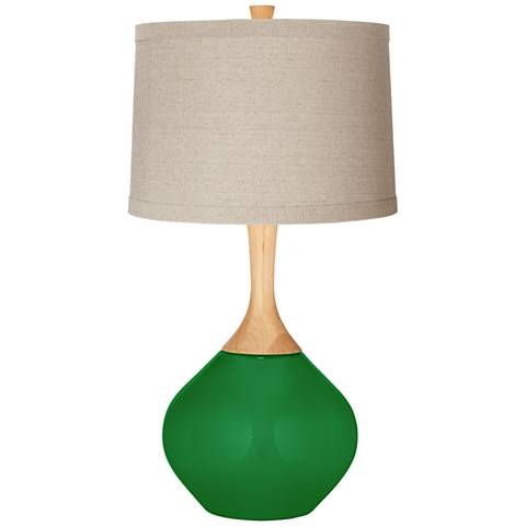 Envy Natural Linen Drum Shade Wexler Table Lamp