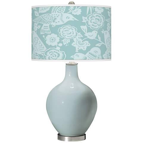 Rain Aviary Ovo Glass Table Lamp