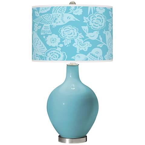 Nautilus Aviary Ovo Glass Table Lamp