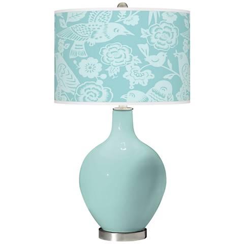 Cay Aviary Ovo Glass Table Lamp