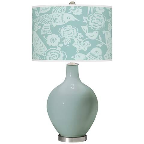 Aqua-Sphere Aviary Ovo Glass Table Lamp