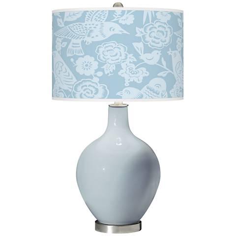 Take Five Aviary Ovo Glass Table Lamp
