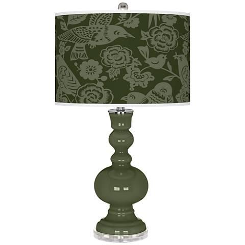 Secret Garden Aviary Apothecary Table Lamp