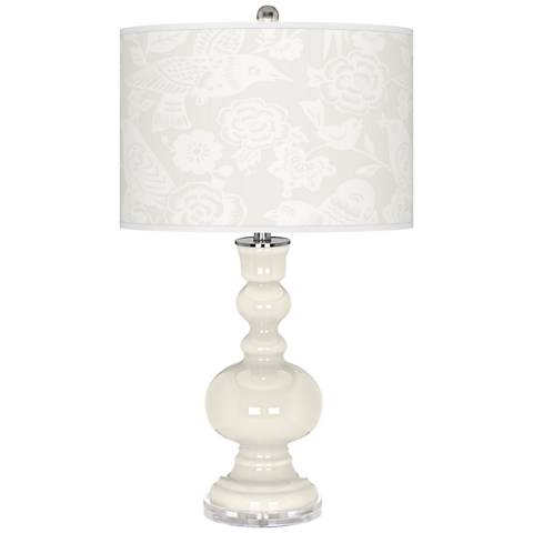West Highland White Aviary Apothecary Table Lamp