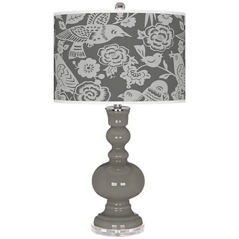 Gauntlet Gray Aviary Apothecary Table Lamp