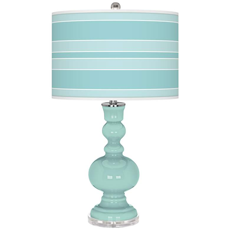 Cay Bold Stripe Apothecary Table Lamp