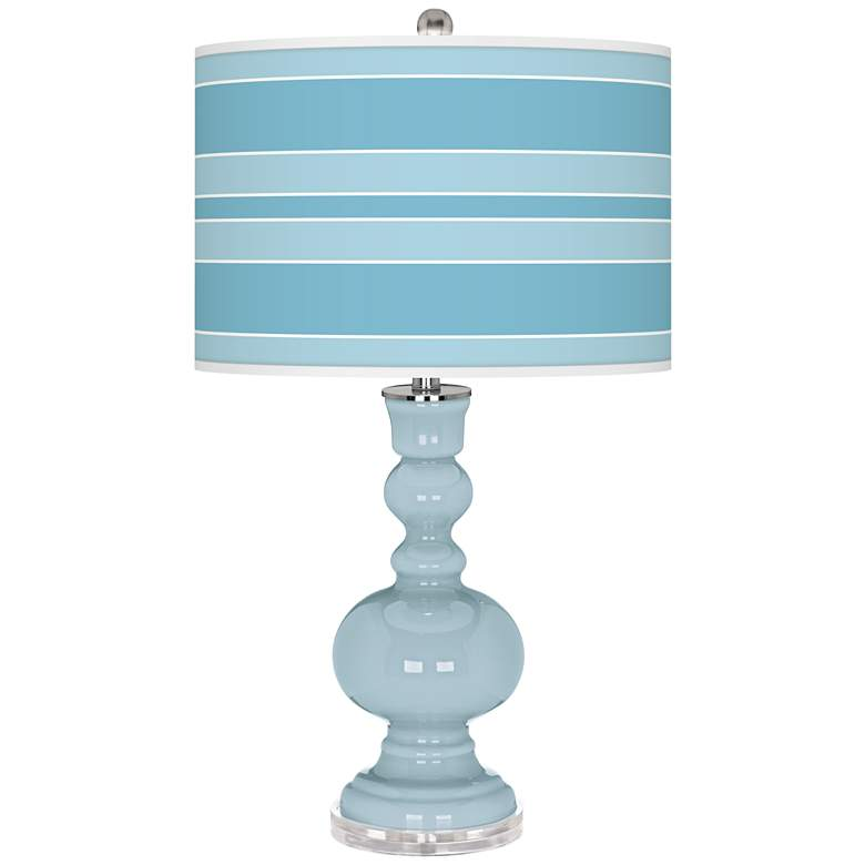 Vast Sky Bold Stripe Apothecary Table Lamp