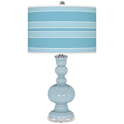 Vast Sky Bold Stripe Apothecary Table Lamp