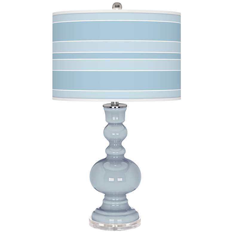 Take Five Bold Stripe Apothecary Table Lamp