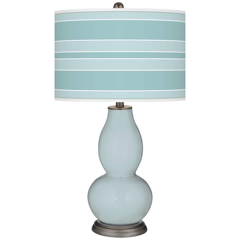 Rain Bold Stripe Double Gourd Table Lamp