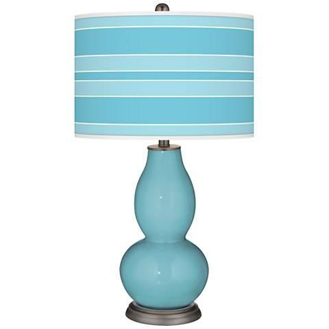 Nautilus Bold Stripe Double Gourd Table Lamp