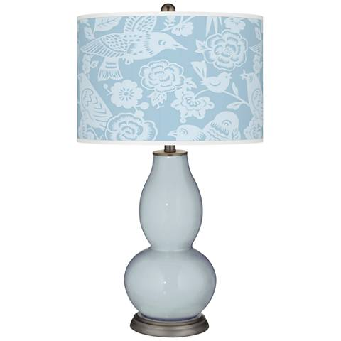 Take Five Aviary Double Gourd Table Lamp