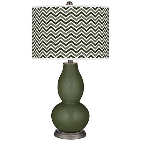 Secret Garden Narrow Zig Zag Double Gourd Table Lamp