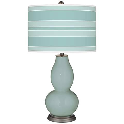 Aqua-Sphere Bold Stripe Double Gourd Table Lamp