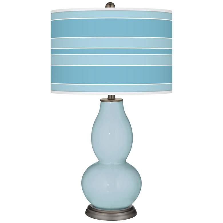 Vast Sky Bold Stripe Double Gourd Table Lamp