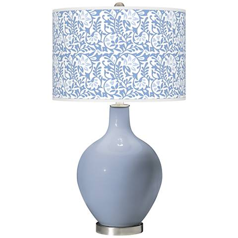 Blue Sky Gardenia Ovo Table Lamp