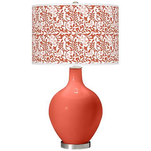 Koi Gardenia Ovo Table Lamp