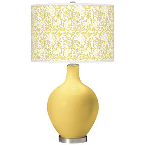 Daffodil Gardenia Ovo Table Lamp