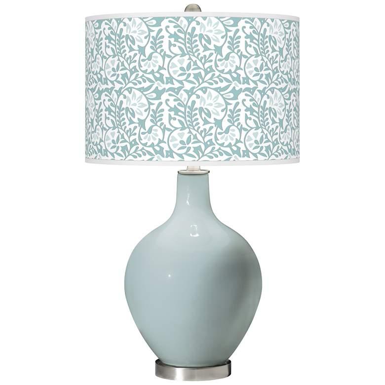Rain Gardenia Ovo Table Lamp