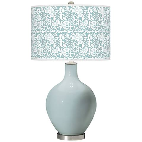 Rain Gardenia Ovo Table Lamp