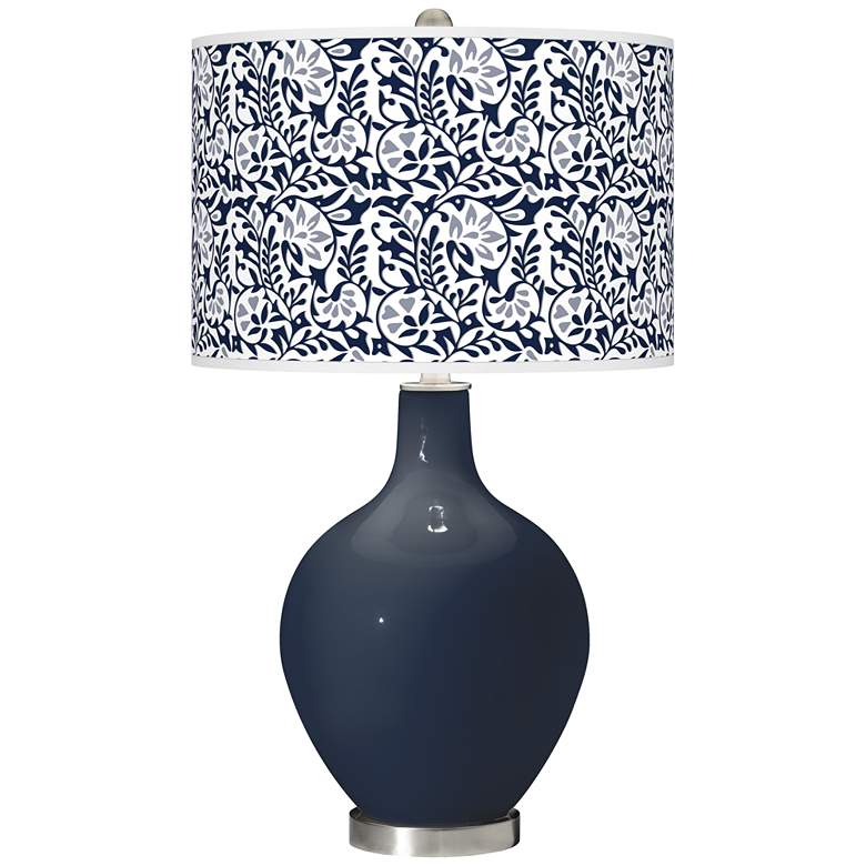 Naval Gardenia Ovo Table Lamp