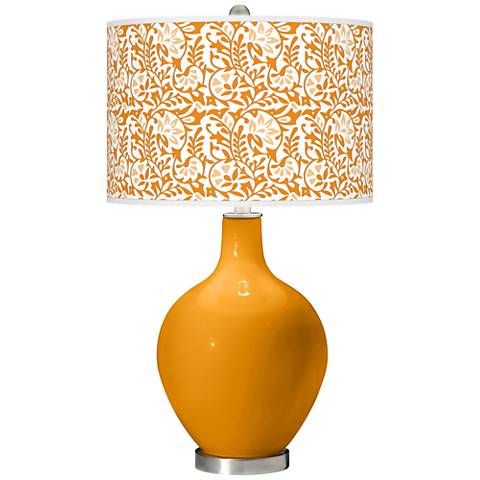Carnival Gardenia Ovo Table Lamp