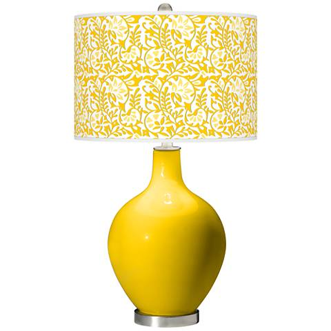 Citrus Gardenia Ovo Table Lamp