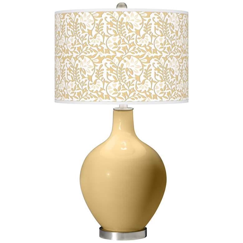 Humble Gold Gardenia Ovo Table Lamp