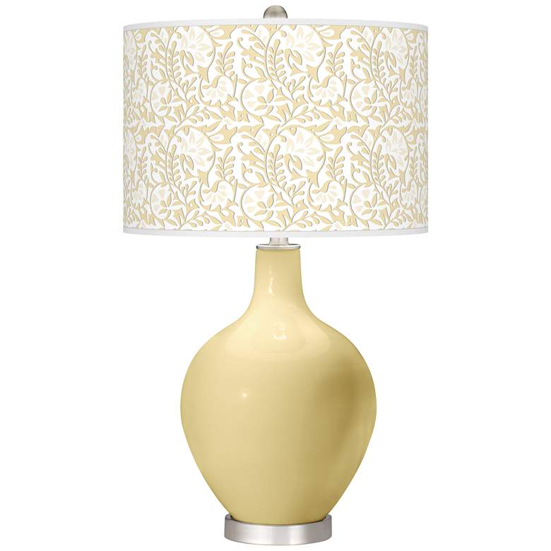 Butter Up Gardenia Ovo Table Lamp