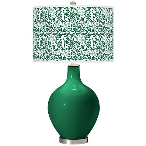 Greens Gardenia Ovo Table Lamp