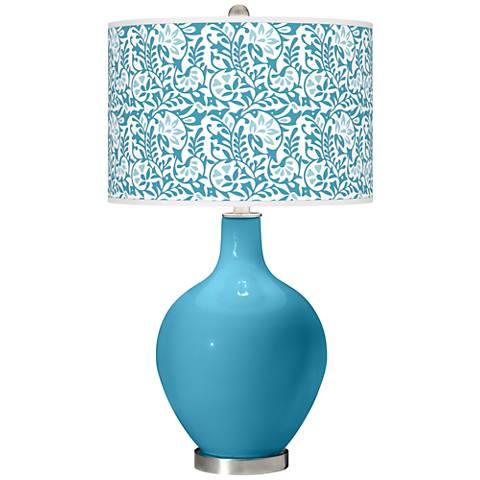 Jamaica Bay Gardenia Ovo Table Lamp