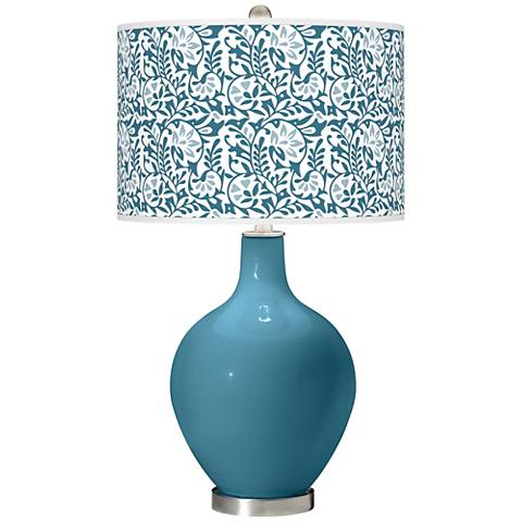 Great Falls Gardenia Ovo Table Lamp