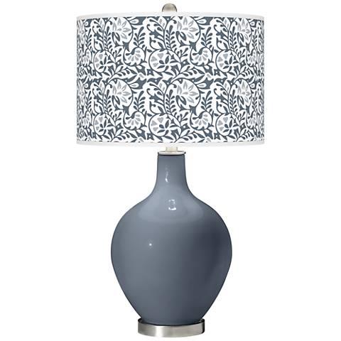 Granite Peak Gardenia Ovo Table Lamp
