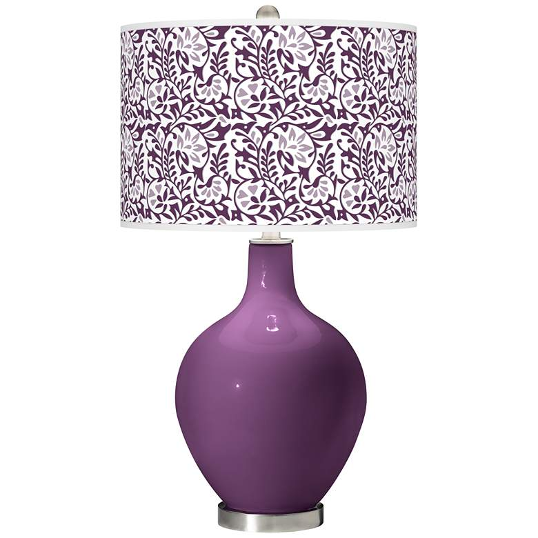 Kimono Violet Gardenia Ovo Table Lamp